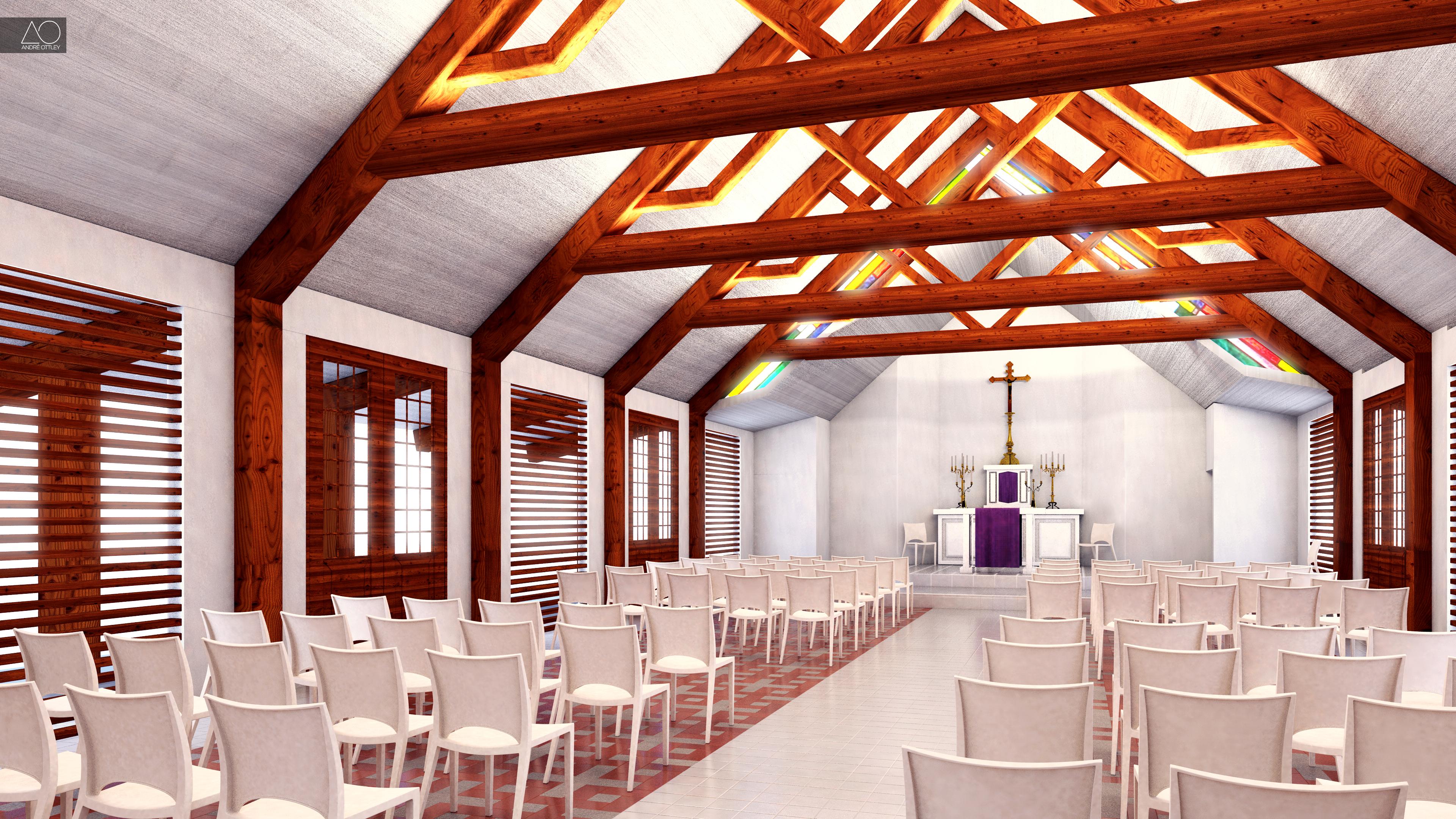 Final Interior - Matelot Church